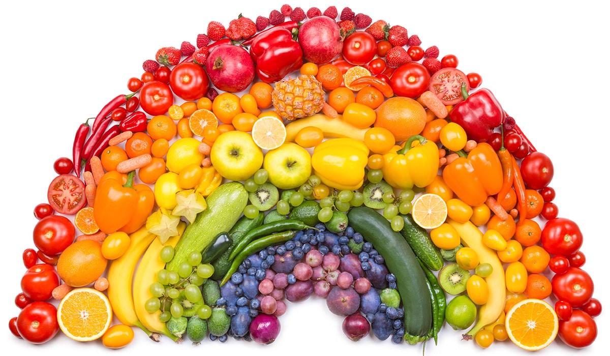 Nett Bilder Von Obst Und Gemüse Zum Färben Ideen - Malvorlagen Von ...