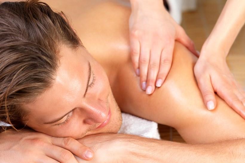 massage selber machen entspannende rückenmassage