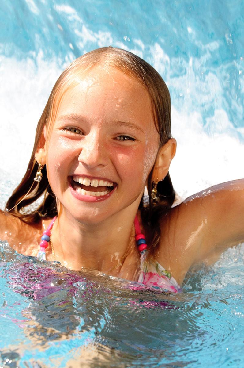 Attraktiv Kinder Im Schwimmbad