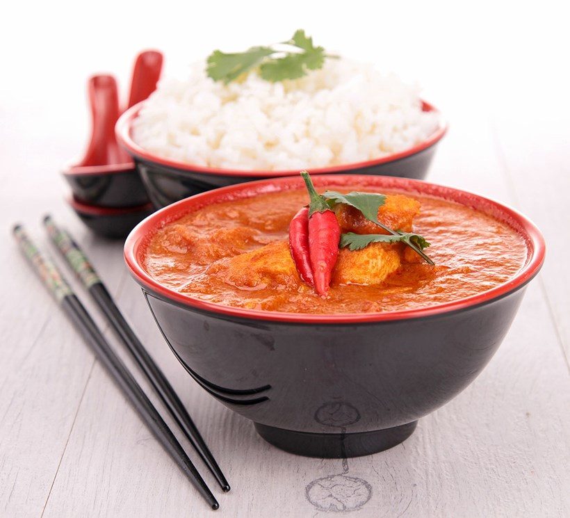 Thai-Curry mit Chili